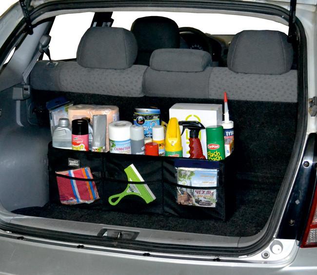 Автомобильный органайзер в багажник своими руками