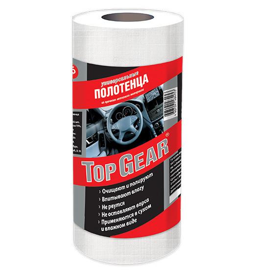 Полотенца сухие Top Gear 22х30см 35шт в рулоне   Автомагазин «Автострада»  Курск